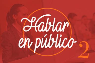 Curso hablar en público II en Barcelona